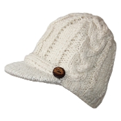 Braided & Ribbed Bill Hat
