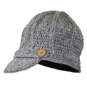 Wide Ribbed Bill Hat