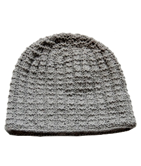 Nordic Structure grey beanie