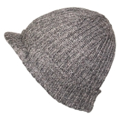 Ribbed Folded Bill Hat